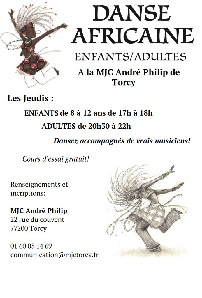 FLYER DANSE AFRO 2015 AMCAL