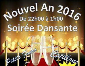 Nouvel an 2017 : soirée dansante ! @ MJC André Philip | Torcy | Île-de-France | France