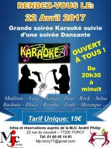 KARAOKE et soirée dansante ! @ Ferme du couvent | Torcy | Île-de-France | France
