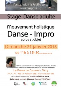Atelier danse parent-enfant